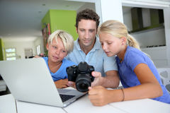 Familiegeheugen Royalty-vrije Stock Afbeelding