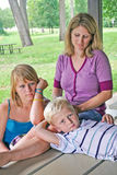 Familieliefde Royalty-vrije Stock Foto