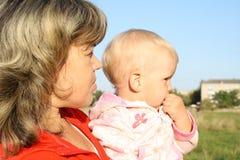 Familienüberwachung Lizenzfreie Stockfotografie