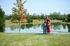 Familien-Abbildungen Lizenzfreie Stockfotografie