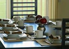 Familien-Abendessen Stockfoto
