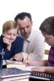 Familien-Ausbildung Stockfotos