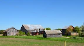 Familien-Bauernhof Lizenzfreie Stockfotos