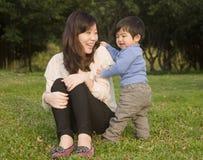 Familien chinesisch Lizenzfreies Stockfoto