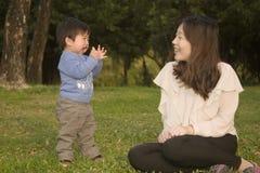 Familien chinesisch Stockfoto