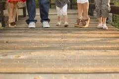 Familien-Füße Stockbild