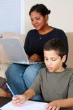 Familien-Funktion Lizenzfreie Stockfotos