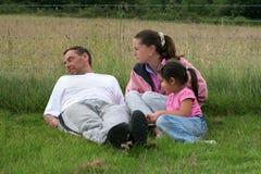 Familien-Gruppe stockfoto