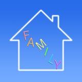 Familien-Konzept Stockfotografie