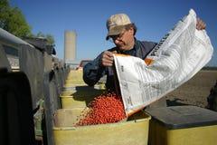 Familien-Landwirtschaft Lizenzfreies Stockbild