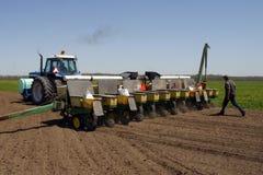Familien-Landwirtschaft Lizenzfreie Stockfotos