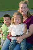 Familien-Lächeln 3 Lizenzfreies Stockbild