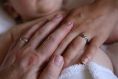 Familien-Liebe Lizenzfreies Stockbild