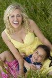 Familien-Natur Lizenzfreies Stockfoto