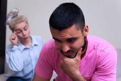 Familien- oder Paarbeziehungsprobleme Lizenzfreies Stockbild