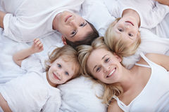 Familien-Portrait stockfoto