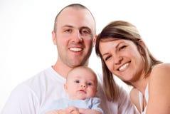 Familien-Portrait Stockfotos