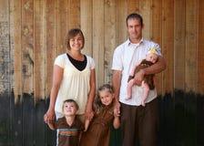 Familien-Portrait Lizenzfreie Stockbilder