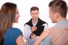 Familien-Psychologe lizenzfreies stockfoto