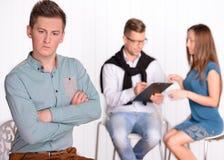 Familien-Psychologe lizenzfreie stockbilder