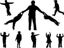 Familien-Spaß Lizenzfreie Stockbilder