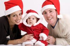 Familien-Weihnachten Lizenzfreie Stockfotografie