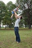 Familien-Zeit Stockfoto