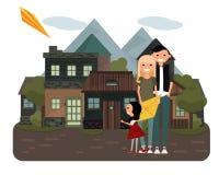 Familien-Zeit Lizenzfreie Stockfotografie