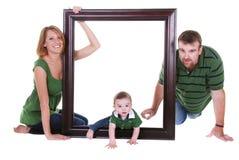 Familienabbildung Stockfotografie