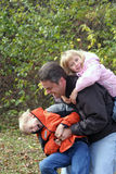 Familienangelegenheit Lizenzfreie Stockfotos