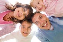 Familienanschluß Lizenzfreies Stockbild