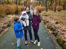 Familienausflug Stockfotografie