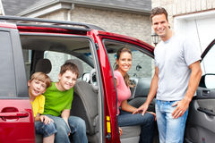 Familienauto Lizenzfreies Stockbild