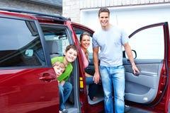 Familienauto Lizenzfreies Stockfoto