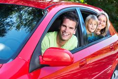 Familienauto. Stockfotos