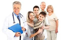 Familiendoktor lizenzfreie stockbilder