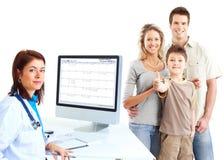 Familiendoktor Lizenzfreies Stockbild