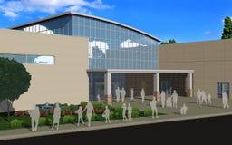 Familienerholung center2 Lizenzfreies Stockbild