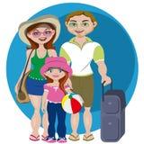 Familienfeiertage Lizenzfreie Stockfotos
