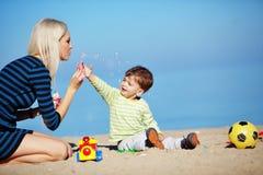Familienfreizeit lizenzfreies stockfoto