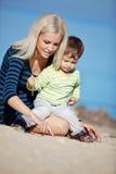 Familienfreizeit lizenzfreie stockfotos