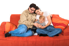 Familiengeschichten Stockfoto