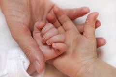 Familienhände Lizenzfreie Stockfotografie