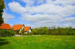Familienhaus Lizenzfreies Stockfoto