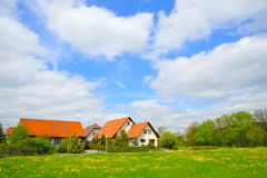Familienhaus Lizenzfreie Stockfotos