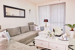 Familienhausinnenraum Lizenzfreies Stockfoto