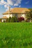 Familienheim stockbild