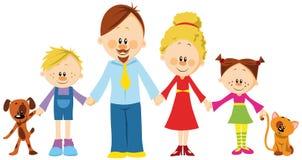 Familienholdinghände Stockfotos
