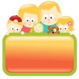 Familienholdingzeichen - blond