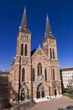 Familienkirche in Vienna, Austria. Familienkirchein the sunshine in Vienna, Austria Stock Photos
